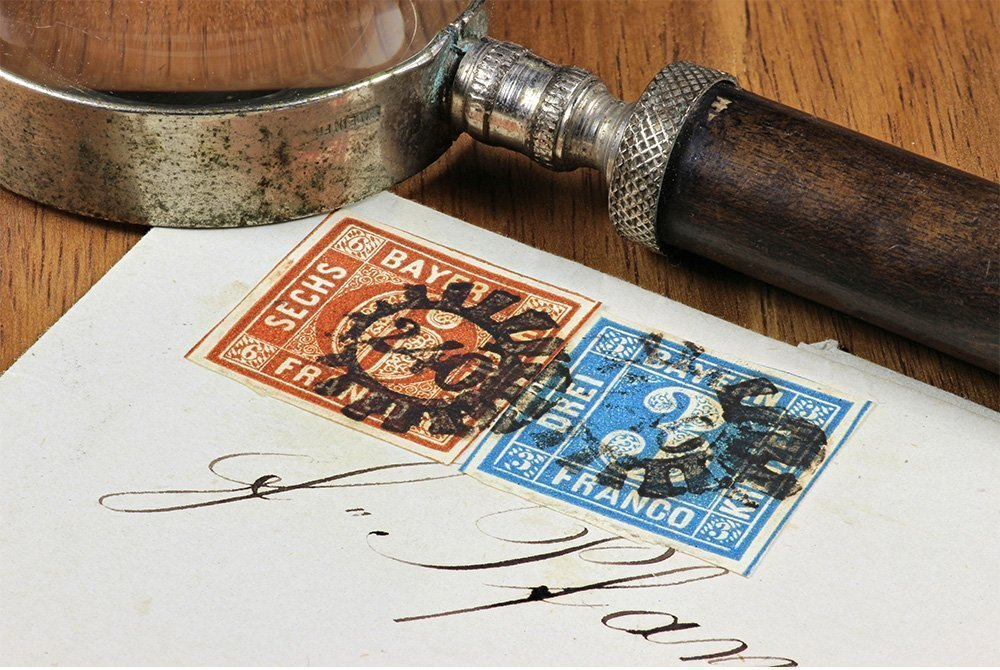 selling stamps by private treaty