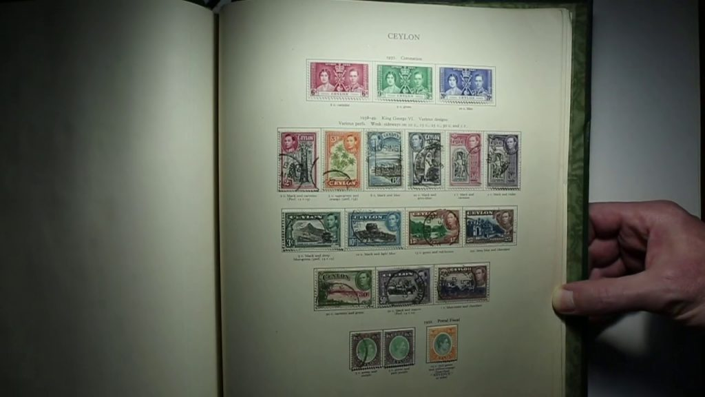Video of King George VI British Commonwealth Stamp Collection Aden to Gilbert and Ellice Islands
