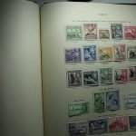 Video of a King George VI British Commonwealth Stamp collection from Malaya to Norfolk Islands