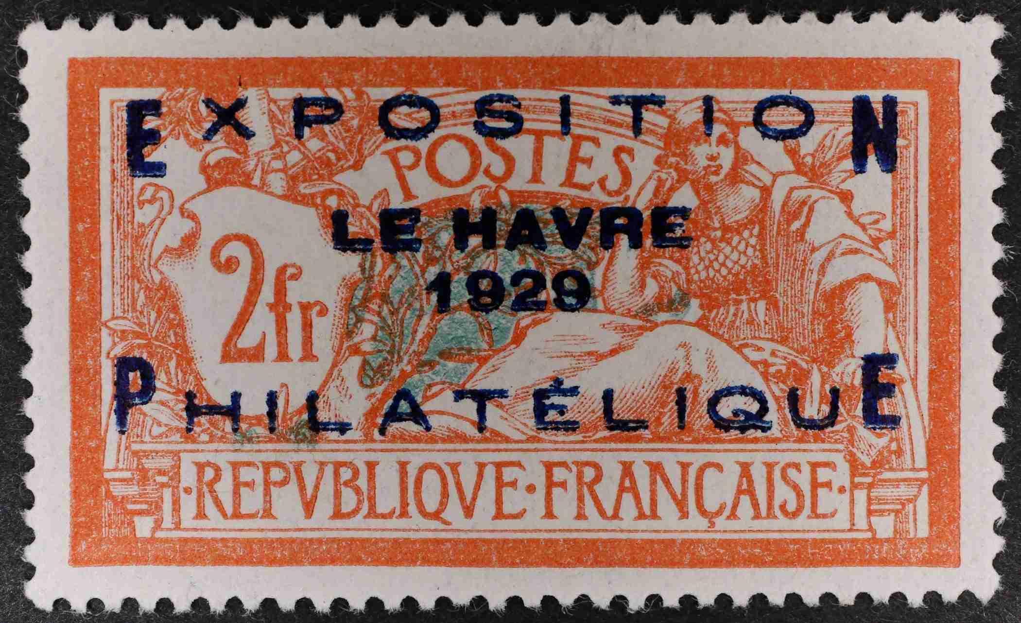 1929 Philatelic Exposition Le Harve, VVLMM SG470 Cat. £1000