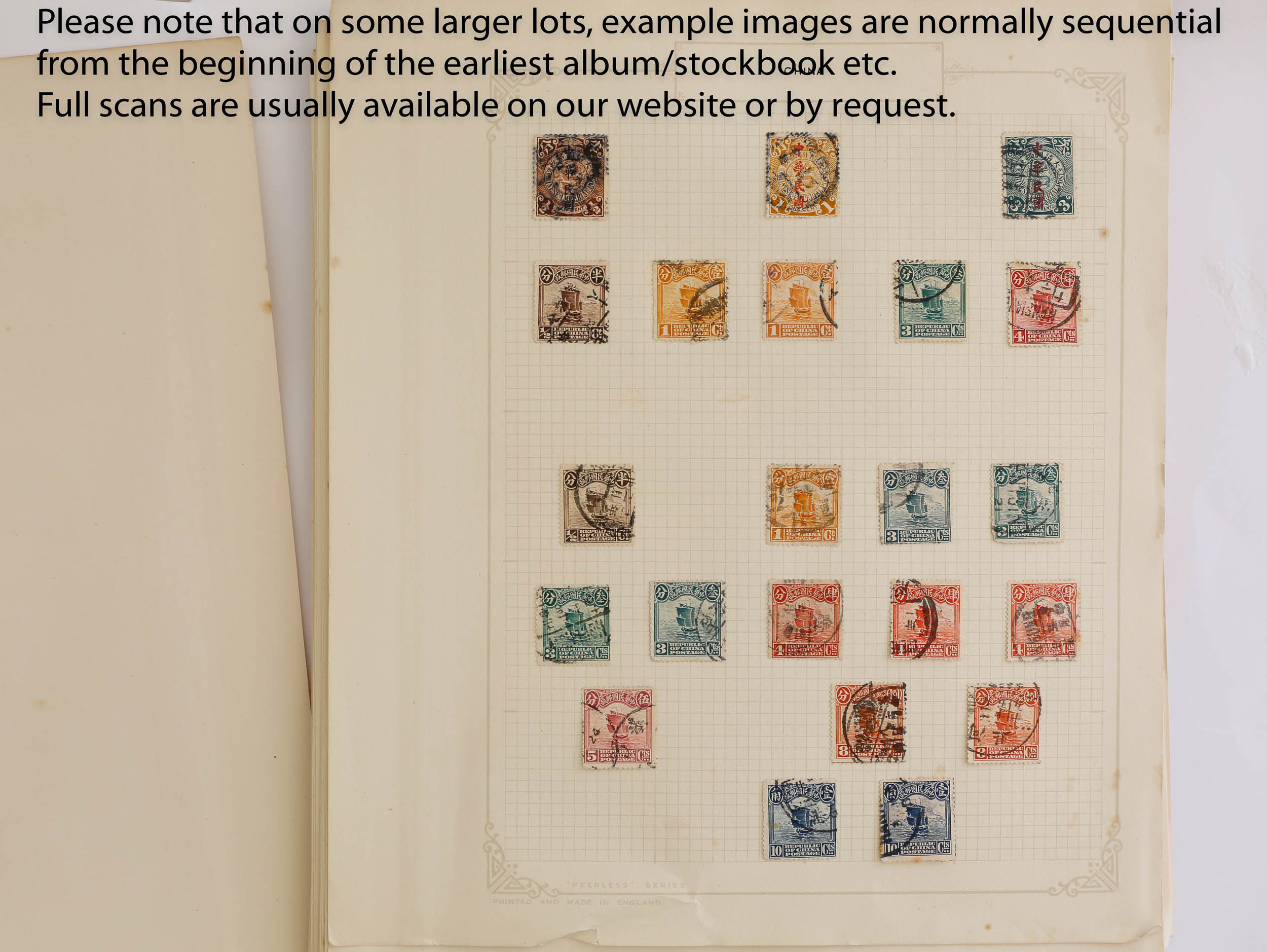 China stamp collection