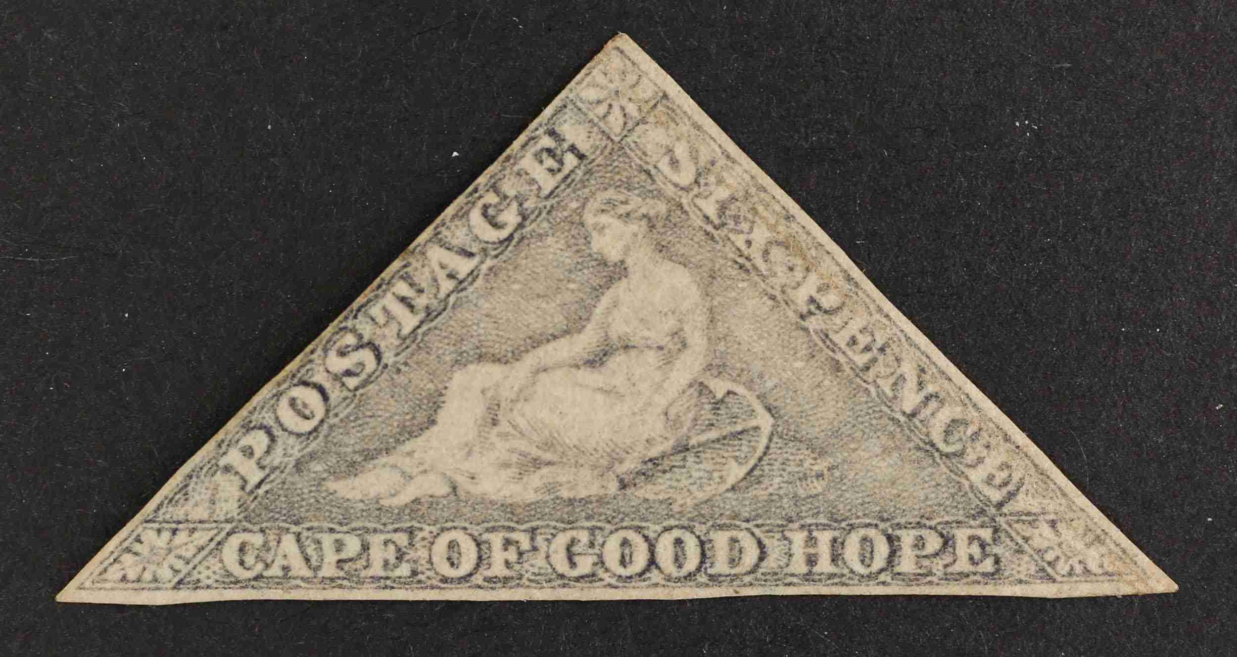 Cape of Good Hope 1863 6d slate-purple/blued paper MM SG7c Cat. £4500